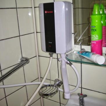 De Elektrische Doorstromer Voor Warm Water Zonder Gas
