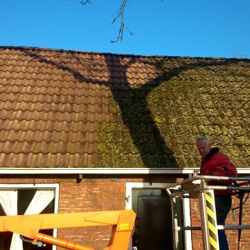 Werk aan de buitenkant, de gevel en het dak