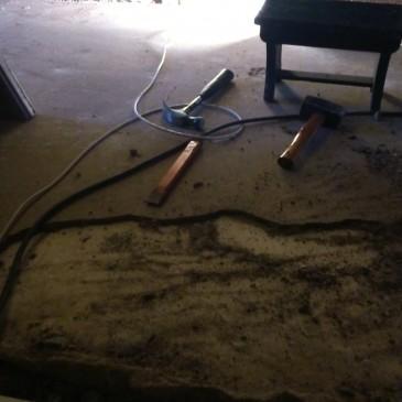 Cementdekvloer verwijderen