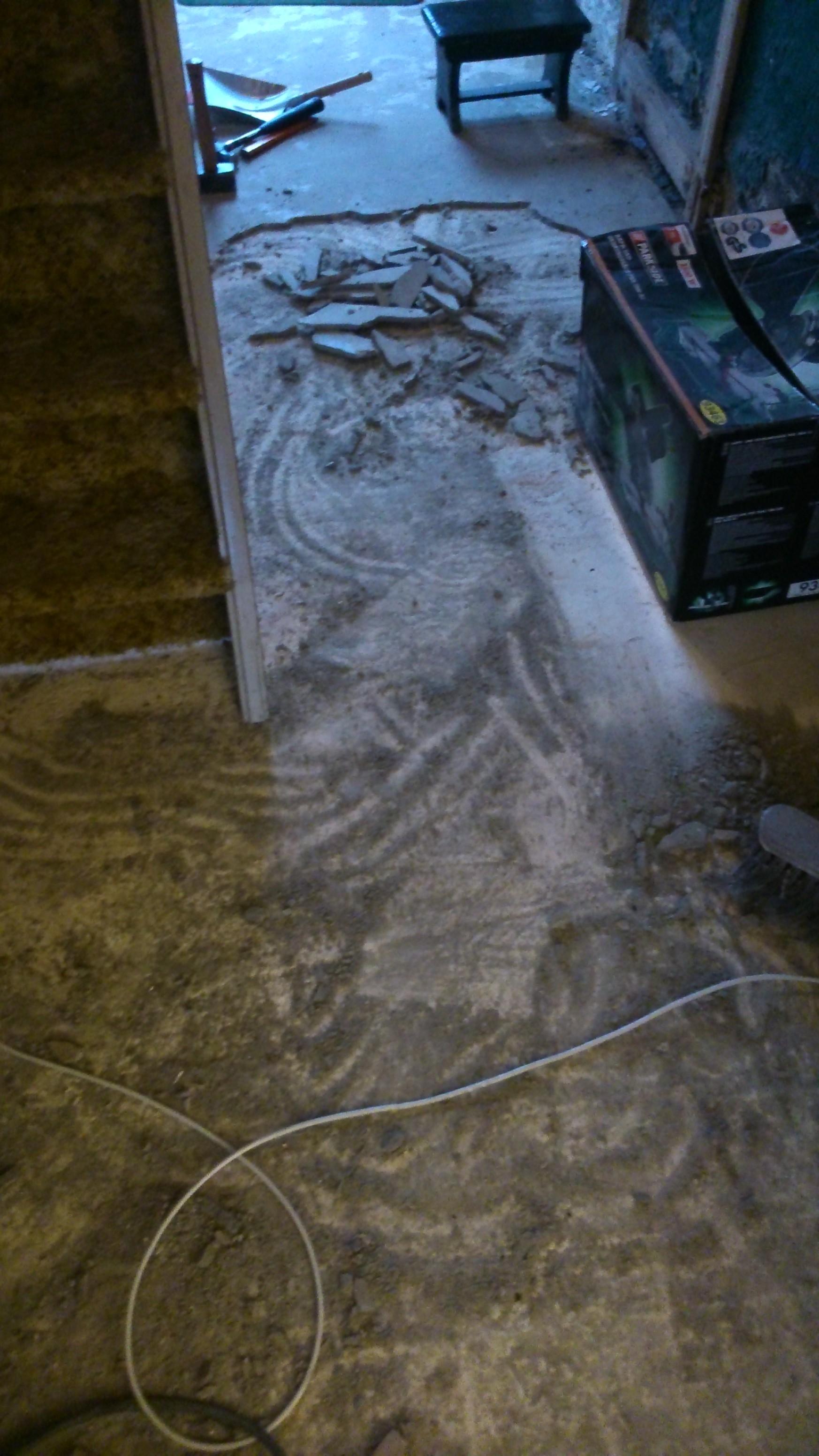 Bekend Cementdekvloer verwijderen - Zoektocht Friesland MD36